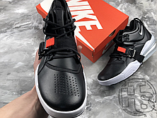 Мужские кроссовки Nike Air Force 270 Black/Chrome White University Red AH6772-001, фото 2