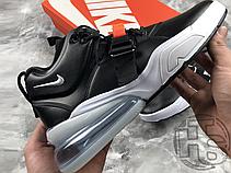 Мужские кроссовки Nike Air Force 270 Black/Chrome White University Red AH6772-001, фото 3