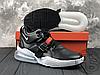 Мужские кроссовки Nike Air Force 270 Black/Chrome White University Red AH6772-001, фото 4