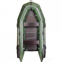 Моторная надувная лодка BT-310SD 3-х местная моторная, килевая, сплошной настил, двигающееся сиденья, комплект, фото 1