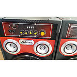 Активная акустика Ailiang , мощная портативная блютуз колонка, караоке, фото 4