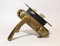 Ручка с механизмом под фиксатор Браво 62мм бронза
