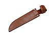 """Нож охотничий для экстрима и охоты """"Тайга-1"""" (315мм) Сталь 440С, черное покрытие. Рукоять-дерево., фото 5"""