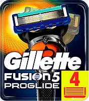 Сменные картриджи для бритья Gillette Fusion ProGlide (4 шт.)