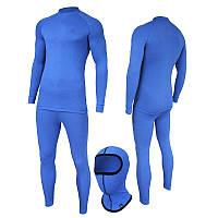 Комплект мужского термобелья Radical Polska XL Madman Blue r0056, КОД: 124948