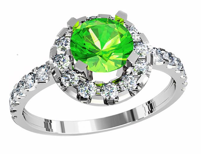 Кольцо  женское серебряное  Extra 212 390