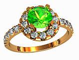 Кольцо  женское серебряное  Extra 212 390, фото 2
