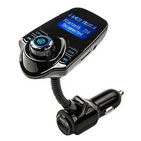 FM-трансмиттер модулятор Kronos MP3 Bluetooth T10 sp3776, КОД: 131405
