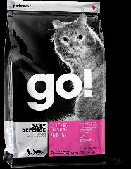 GO! DAILY DEFENCE Для котят и кошек со свежей курицей, фруктами и овощами 7.26кг