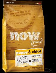 Сухой корм для щенков Now Fresh Puppy Recipe Grain Free с индейкой, уткой и лососем 11.34кг