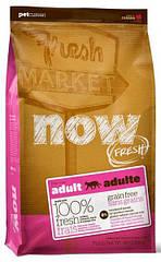 NOW Fresh Grain Free Adult Cat Recipe 31/18 Беззерновой для взрослых кошек с индейкой, уткой и лососем 3.63