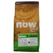 NOW Fresh Grain Free Kitten Recipe 33/20 беззерновой корм для котят с индейкой, уткой и лососем