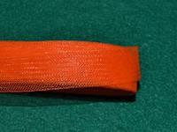 Регилин тесьма 2см, моток 23см, оранжевый цвет