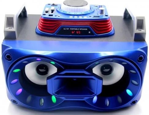 Колонка портативная DJ-787 (micro SD, USB, bluetooth)