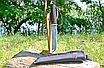 """Нож охотничий универсальный  для туристов охотников спасателей экстремалов Клинок 150мм: """"американский танто"""", фото 4"""
