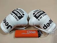 Подвеска боксерские перчатки JEEP белые в авто