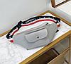 Поясная сумка бананка с красочным поясом, фото 3