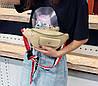 Поясная сумка бананка с красочным поясом, фото 4