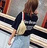 Поясная сумка бананка с красочным поясом, фото 6