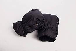 Муфта-рукавицы на коляску DECOZA.MOMS оксфорд Черный DM-MO-4, КОД: 126331