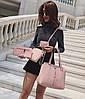 Набір жіночих сумок 4в1 зі стильною блискавкою, фото 5