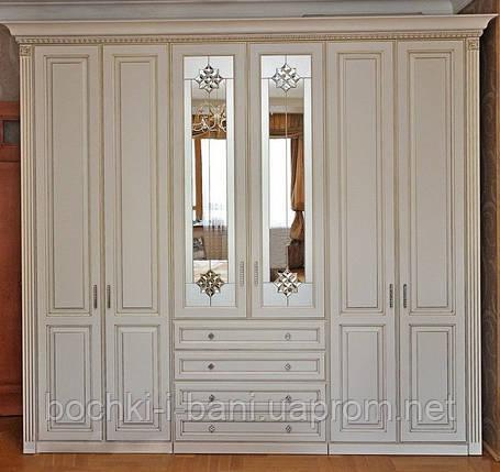 Шкаф из массива в классическом стиле, фото 2