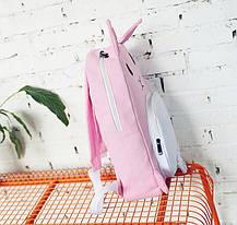 Оригинальный тканевый рюкзак кролик, фото 3