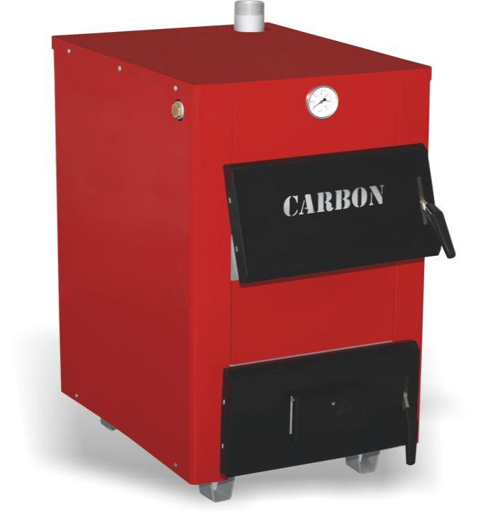 Стальной твердотопливный котел Carbon КСТО 14 кВт New (Карбон 14 нью)