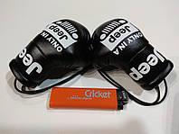 Подвеска боксерские перчатки JEEP черные в авто