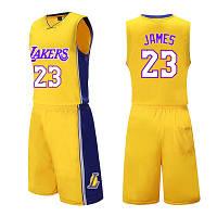 df00bf62 Форма желтая LeBron James №23 (майка+шорты) Los Angeles Lakers