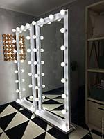 Зеркало напольное для мастеров двухстороннее