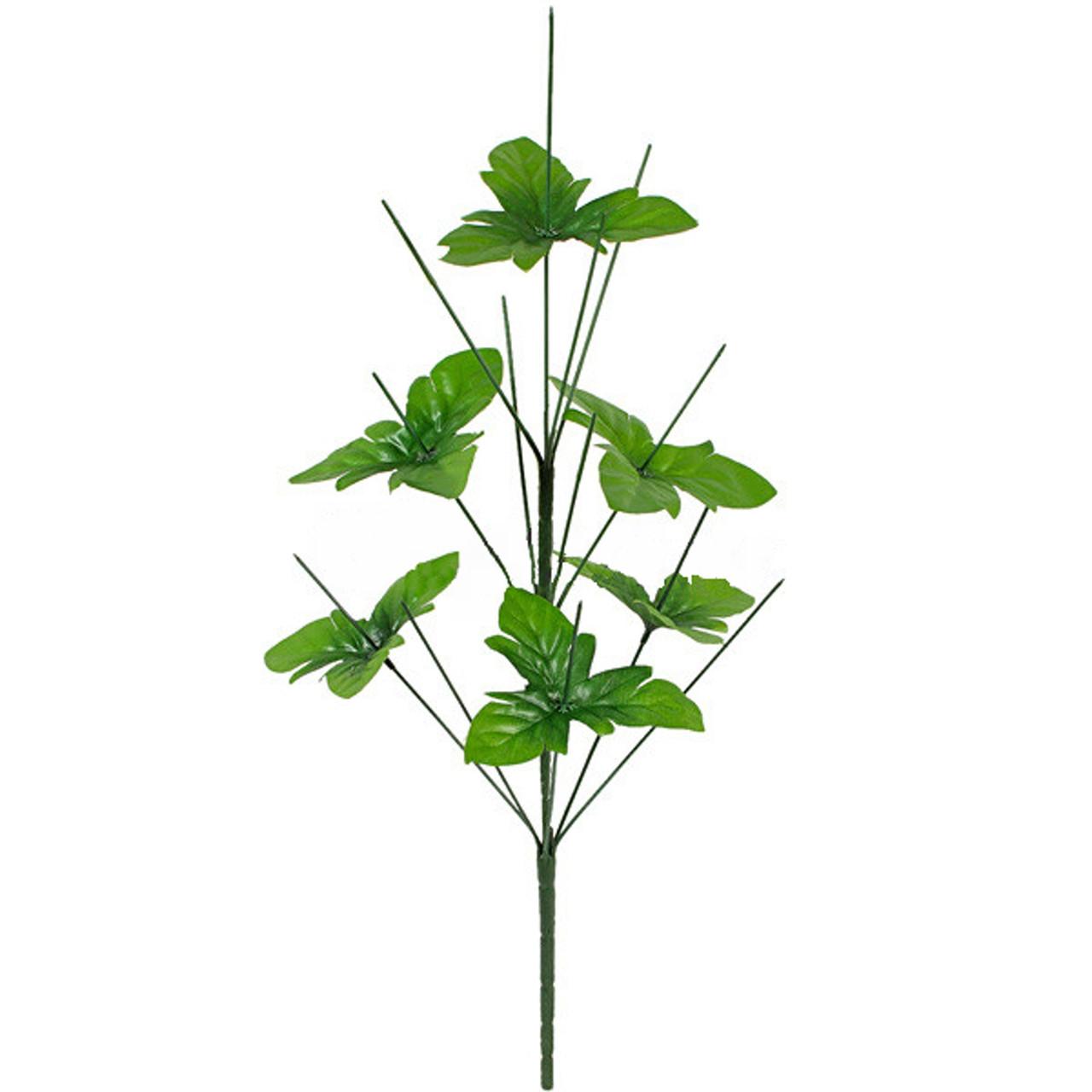 Нога букетная 13-ка высокая с листом, 61см (Н-131)