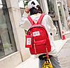 Модный тканевый рюкзак Hey с пеналом, фото 5