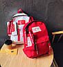Модный тканевый рюкзак Hey с пеналом, фото 4
