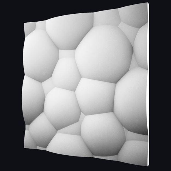 """Настенная гипсовая 3D панель """"Пузыри"""""""