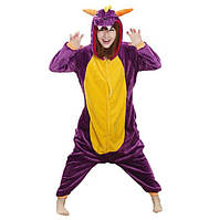 Кигуруми для взрослых Дракон Фиолетовый