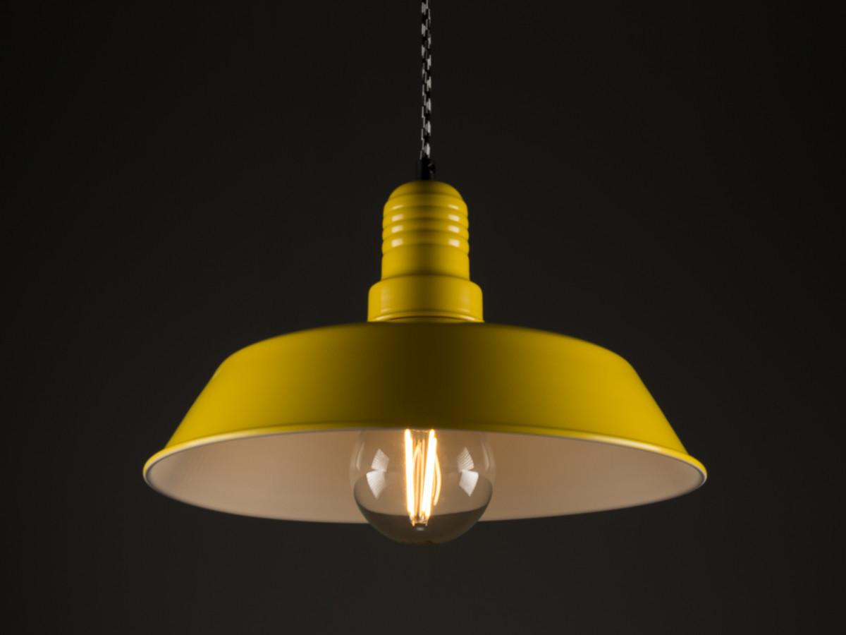 Потолочный светильник PL-12 желтый