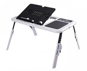 Подставка столик для ноутбука с двумя USB кулерами nri-2060, КОД: 208852