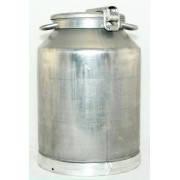 Бидон (фляга) для молочных продуктов алюминиевый 25 л.