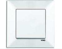 Выключатель белый Viko Meridian