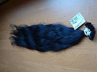 Волосы славянские на капсулах волнистые. +Премиум