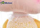 Игрушки в кроватку-мягкая игрушка-сплюшка зайка-сплюшка Metoo Анжела в желтом платье+подарочный пакет, фото 2