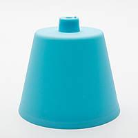 Потолочный крепеж пластиковый голубой
