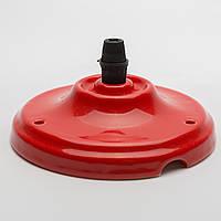 Потолочный крепеж керамический красный