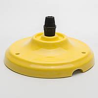 Потолочный крепеж керамический желтый