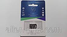 Мініатюрний ФЛЕШ-накопичувач T&G USB Flash Drive, 8GB, метал, (флешка на 8 GB)