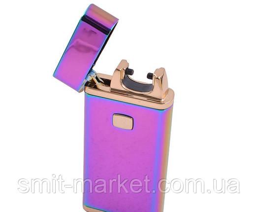 Электроимпульсная зажигалка в подарочной упаковке Jobon (USB), фото 2