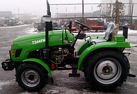 Трактор Т 244FНL (24л.с.,4х4, ГУР, блокировка, колеса 6.00-14 / 9.5-20), фото 1