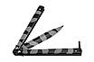 """Нож балисонг-бабочка """"Милитари"""" Grand Way. Стальной клинок 440С Рукоять-металл, фото 6"""