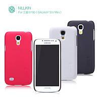 Чехол для Samsung Galaxy S4 mini i9190/i9192 - Nillkin Super Frosted Shield (пленка в комплекте)